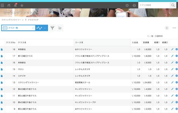 個人教室向け顧客管理アプリ テトコ